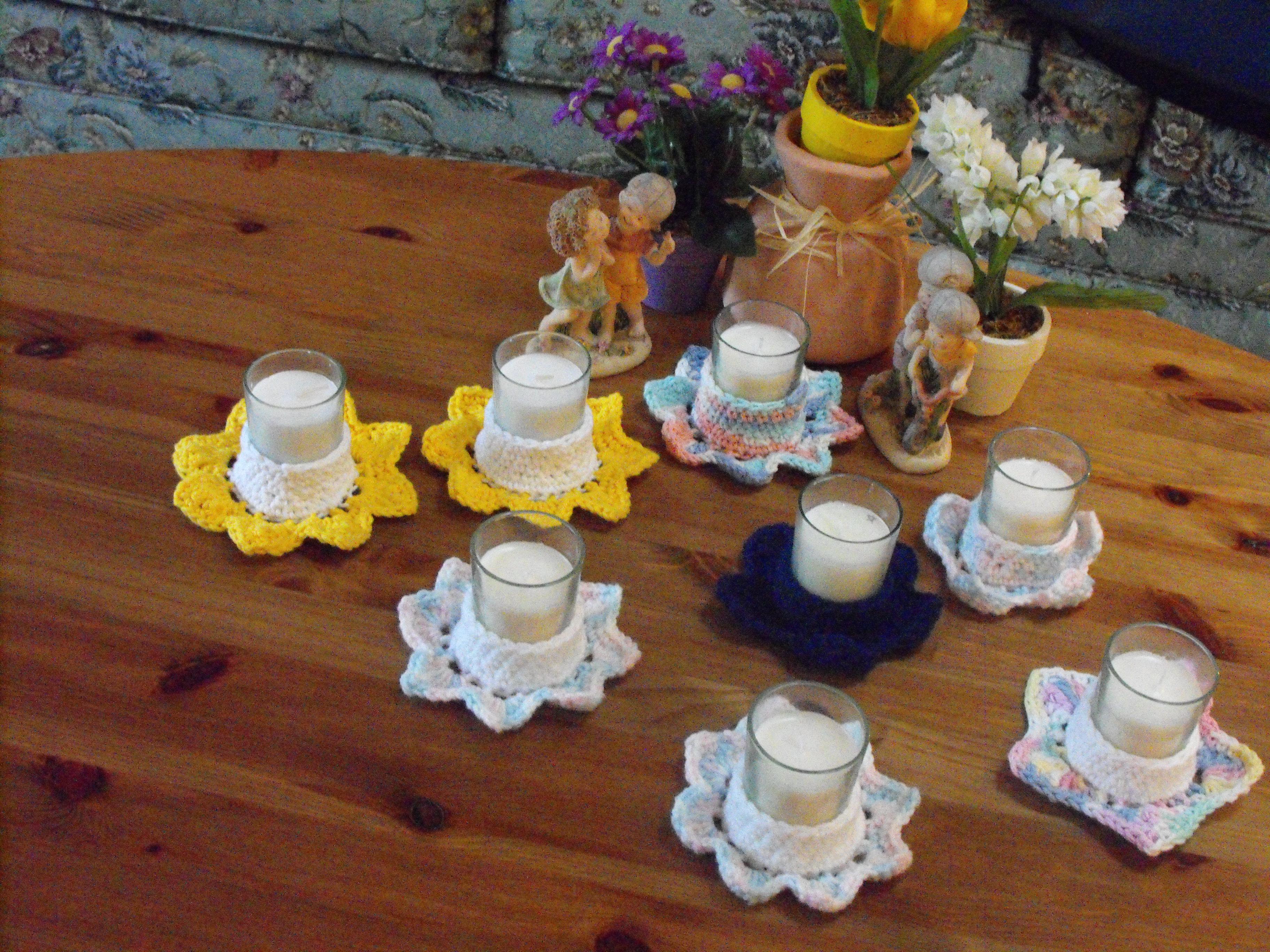 Flower Tea Lights