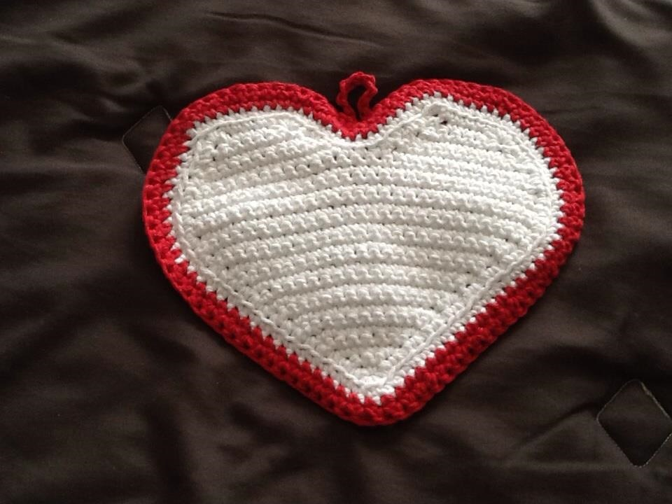 Heart Hot Pad